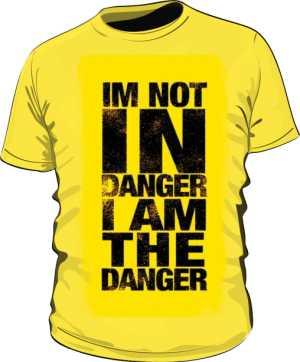 koszulka męska danger me