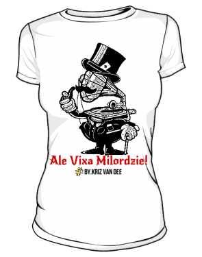 Damska koszulka Ale Vixa Milordzie