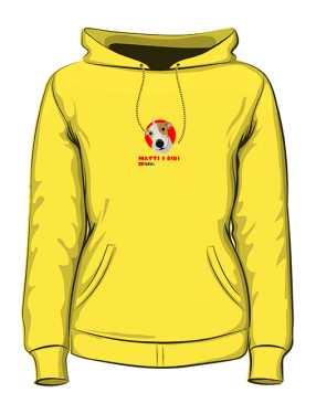 Żółta damska bluza Matti i Bibi