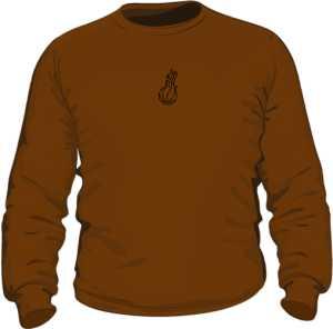 Bluza jesień black logo