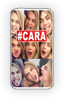 Hashtag Cara Cover to IPhones 4 and 4s