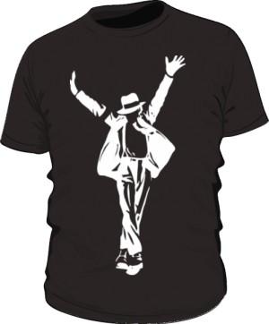 Koszulka Michael Jackson czarna