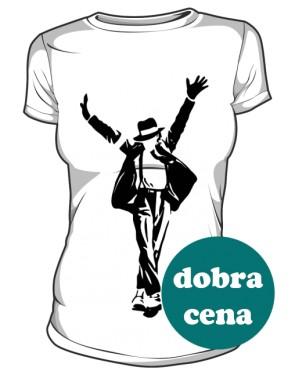 Koszulka Michael Jackson biała
