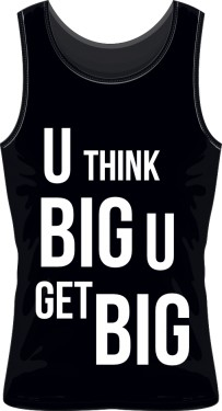 Sleeveless THINK BIG