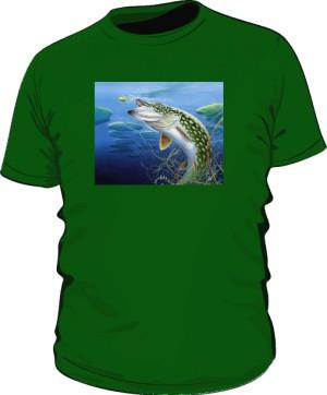 Koszulki z pięknem wędkarstwa