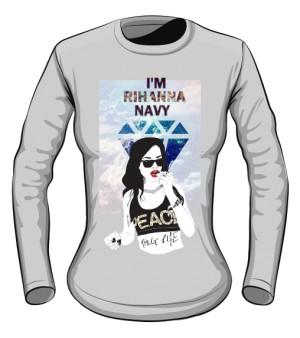 Riri Navy Blouse