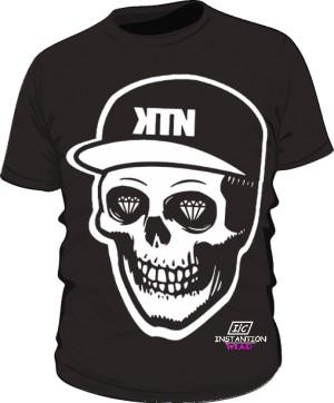 Koszulka KTN Męska Czarna