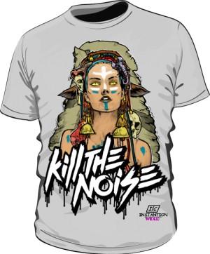 Koszulka Kill The Noise Męska Szara