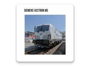 Naklejki Siemens Vectron MS