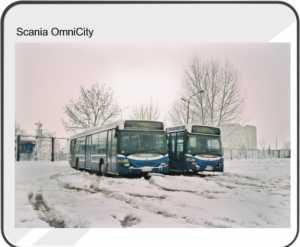 Podkładka pod mysz Scania OmniCity