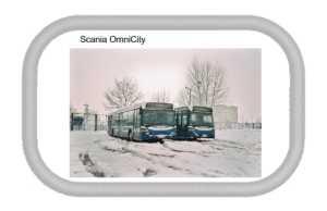 Naszywka z rzepem Scania OmniCity