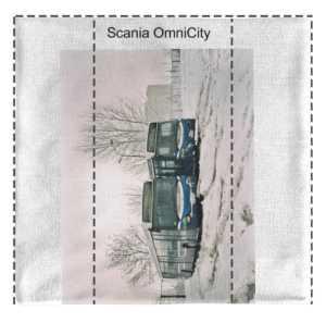 Komin na szyję Scania OmniCity