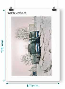 Plakat Scania OmniCity
