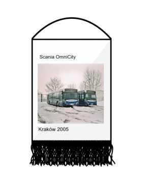 Proporczyk Scania OmniCity