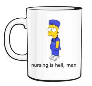 Nursing Is Hell Kubek