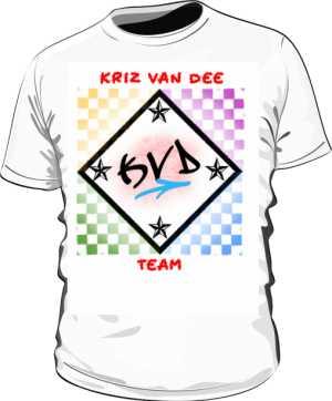 Koszulka KVD TEAM