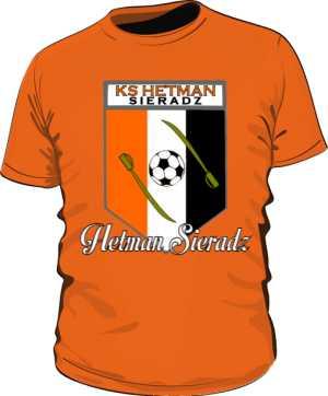 Koszulka kibica pomarańczowa