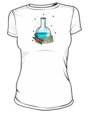 Koszulka z kolbą damska
