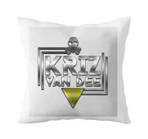 Poduszka z logo KVD