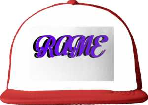 TIRE CAP RAME SHADOW RED