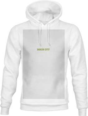 HOODIE RAME MASK OFF WHITE