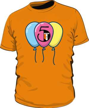 Koszulka jubileuszowa 5 LAT