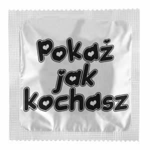Pokaż jak kochasz Prezerwatywy CG