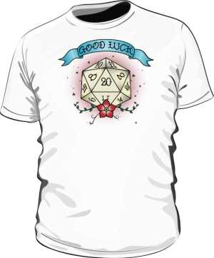 Koszulka d20