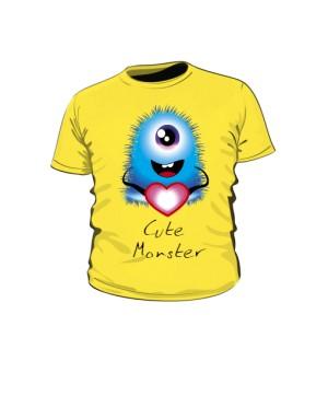 Koszulka Dziecko Cute Monster