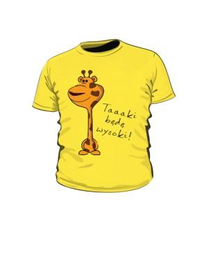 Koszulka Dziecko  Zwierzak Taki Będę