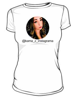 Kama z instagrama koszulka damska