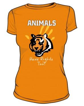Koszulka Damska Color Animals Rights