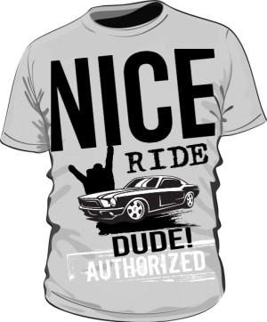 Koszulka Męska Nice Ride