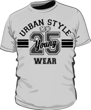 Koszulka Męska Urban Style Wear