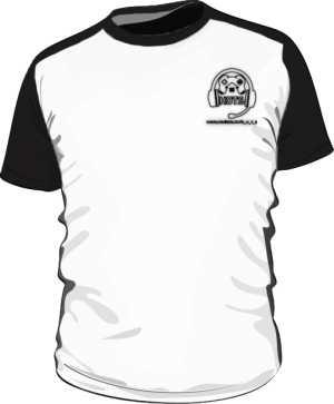KoszulkaDwukolorowaLogoTyłPrzód
