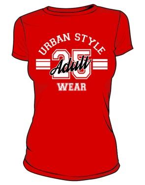 Koszulka  Damska Urban Style Wear kolor