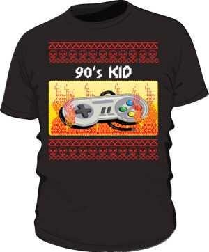 90s Gamer Kid
