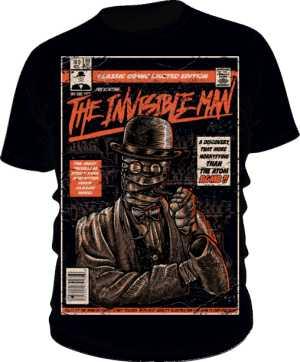 Koszulka Invisible Man