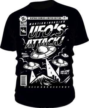 Koszulka UFO attack