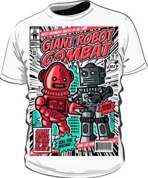 Koszulka Robots