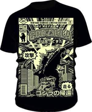 Koszulka Godzilla