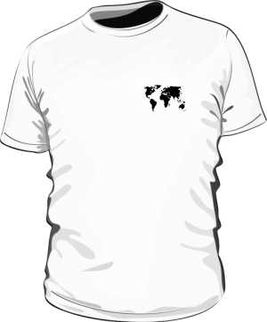 Koszulka mapa