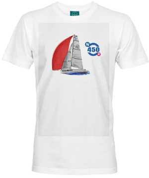 Koszulka premium męska Nautica 450 RACE