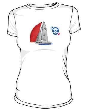 Koszulka premium damska Nautica 450 RACE