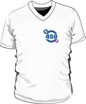 Koszulka V neck męska