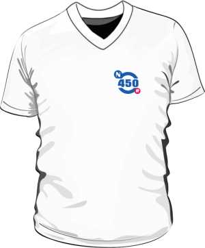 Koszulka męska V neck