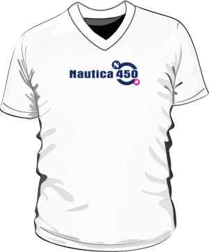 Koszulka V neck męska Nautica 450 Long
