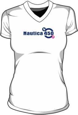 Koszulka V neck damsa Nautica 450 Long