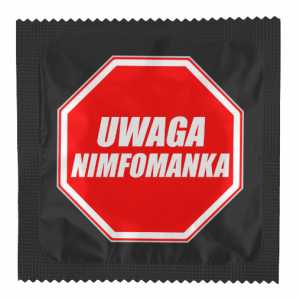Uwaga Nimfomanaka Prezerwatywy