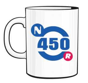Kubek Nautica 450 Logo